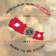 Logo Lions Club Nepal Highlight